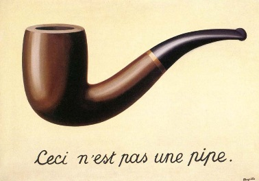 Rene Magritte, The Treachery of Images, 1928-29. Los Angeles County Museum of Art.