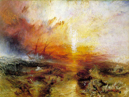 Joseph Mallord William Turner, The Slave Ship