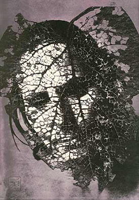 edith in panama leaf mask
