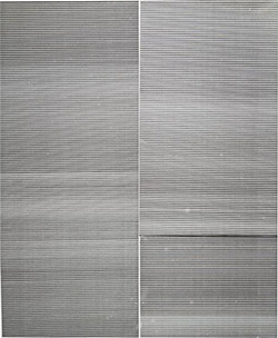 Wade Guyton, Untitled, 2008. Epson UltraChrome inkjet on linen.