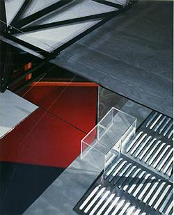 Barbara Kasten, Construct III-C, 1980. Polaroid Print.
