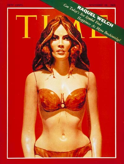 Frank Gallo's Raquel Welch, Time Magazine, 1969.