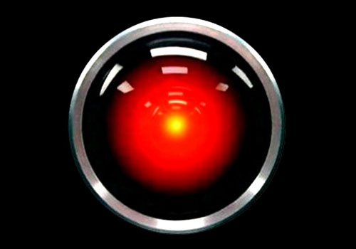 The HAL 9000 from Stanley Kubrick's film, 2001.