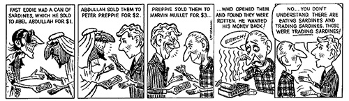 trading sardines